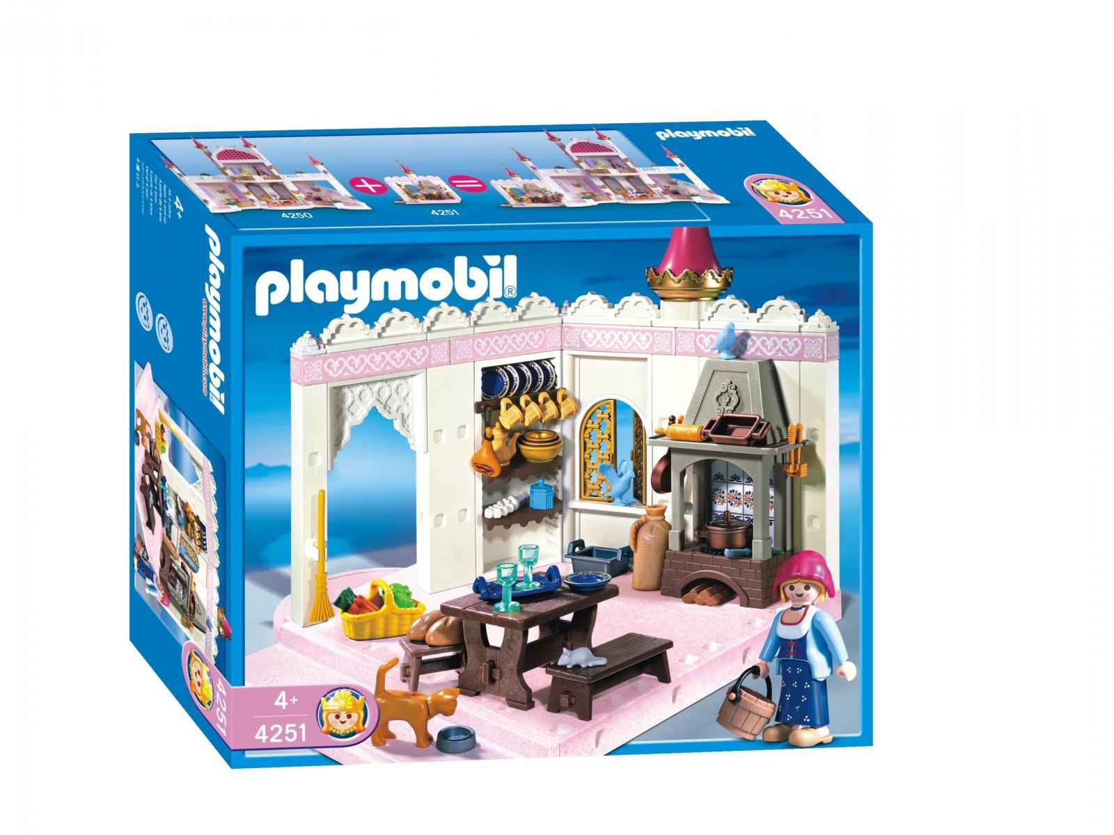 playmobil cuisini re et cuisine de princesse. Black Bedroom Furniture Sets. Home Design Ideas