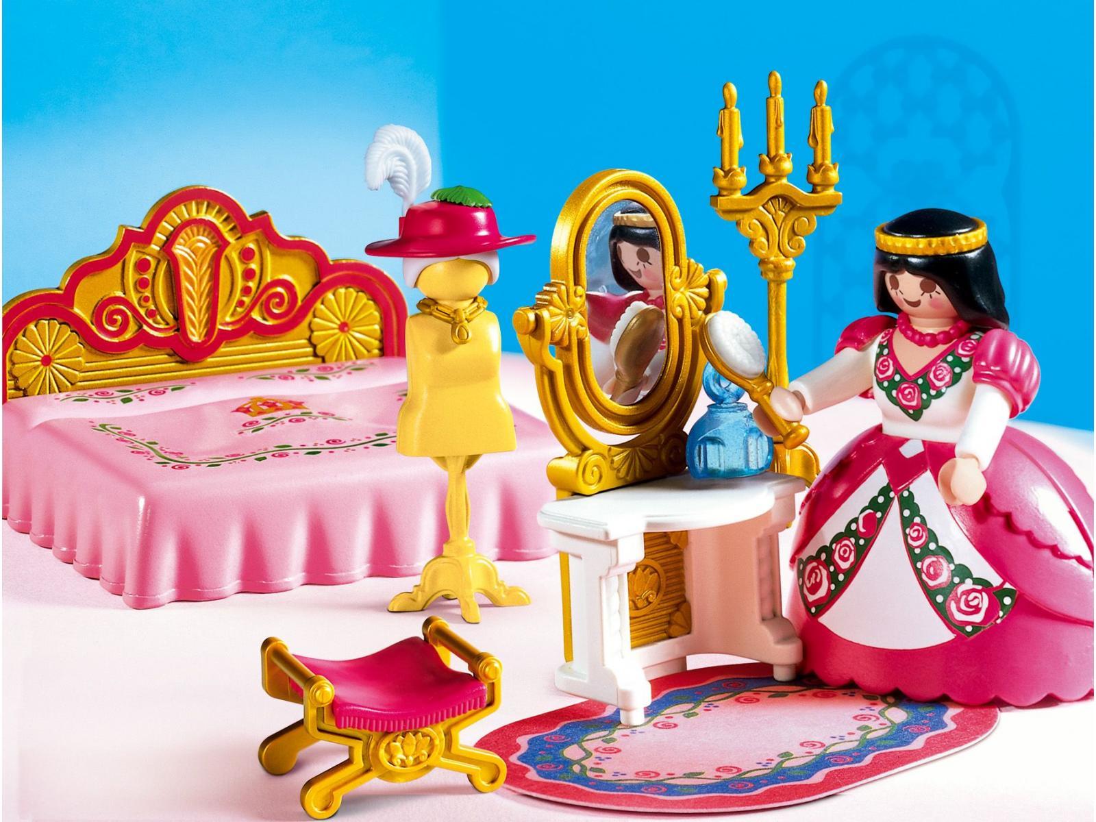 playmobil 4253 princesse chambre