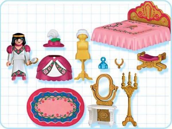 Playmobil - Princesse / chambre