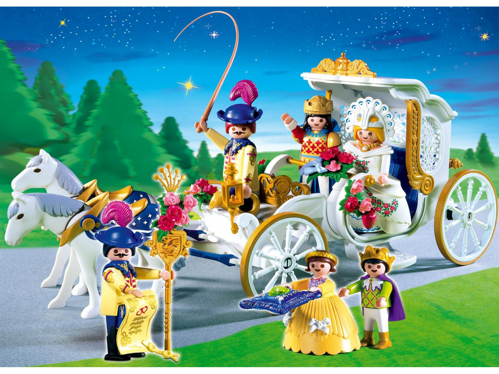 playmobil 4258 maris carrosse - Playmobil Chambres Princesses