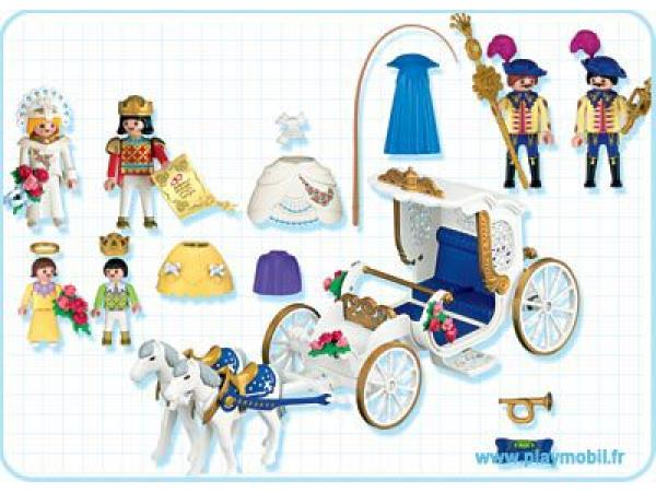 playmobil mari s carrosse