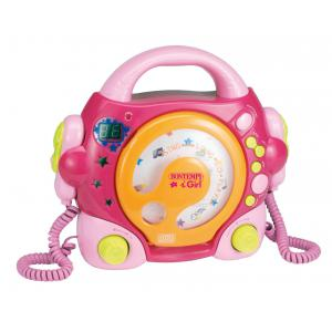 Bontempi - SD9971 - Lecteur de CD ROSE (201013)