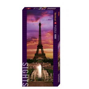 Heye - 29551 - Puzzle Sights Paris la Nuit 1000 pièces (202284)