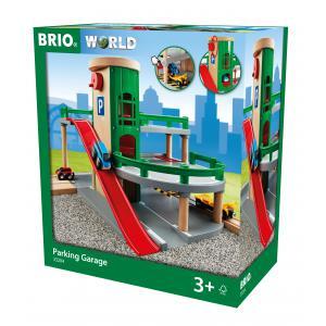 Brio - 33204 - Garage rail / route - Thème Voyageur - Age 3 ans + (206874)