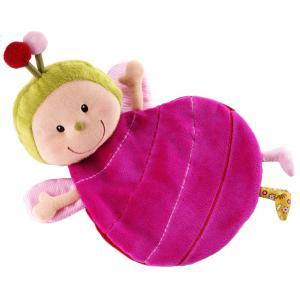 Lilliputiens - 86393 - Doudou marionnette Liz la coccinelle (206900)