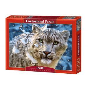 Castorland - 150823 - Puzzle 1500 pièces - Léopard des Neiges (207220)
