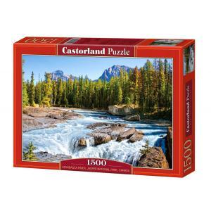 Castorland - 150762 - Puzzle 1500 pièces - Rivière Athabasca, Parc National Jasper, Canada. (207230)