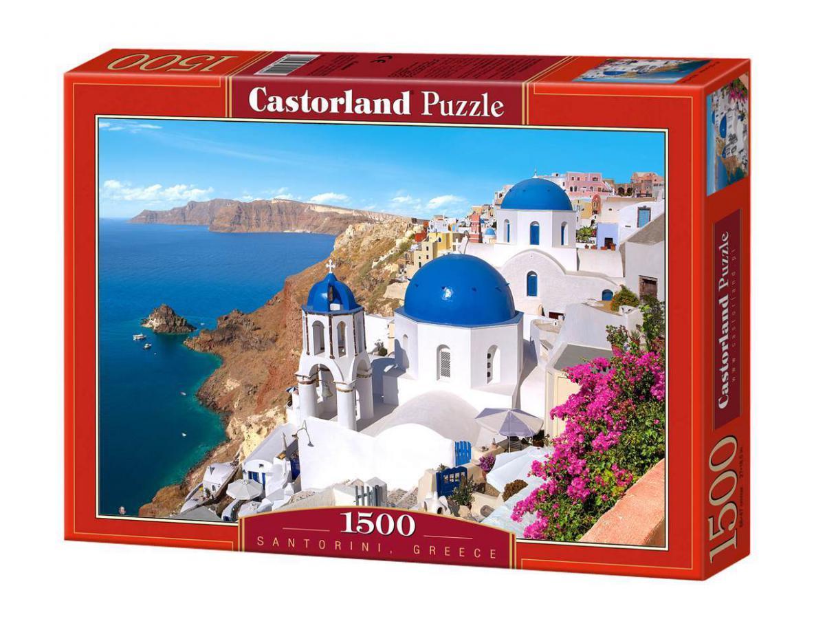 castorland puzzle 1500 pi ces santorini gr ce. Black Bedroom Furniture Sets. Home Design Ideas
