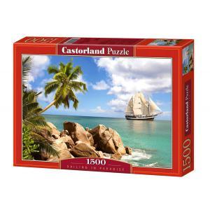 Castorland - 150526 - Puzzle 1500 pièces - Voile au Paradis (207242)