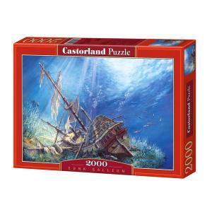 Castorland - 200252 - Puzzle 2000 pièces - Galion coulé (207286)