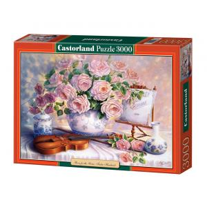 Castorland - 300341 - Puzzle 3000 pièces - Roses for the Soiree, Trisha Hardwick (207292)