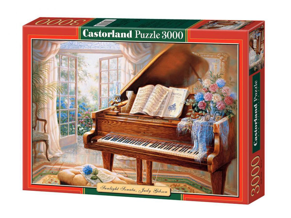 castorland puzzle 3000 pi ces sunlight sonata judy gibson. Black Bedroom Furniture Sets. Home Design Ideas