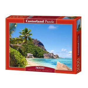 Castorland - 300228 - Puzzle 3000 pièces - Plage Tropicale (207314)