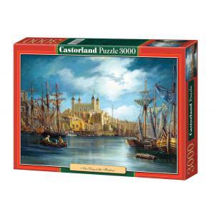 Castorland - 300167 - Puzzle 3000 pièces - Jour Nouveau au Port (207328)