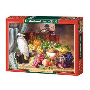 Castorland - 300143 - Puzzle 3000 pièces - Copie de Still Life With Friut and a Cockato (207330)
