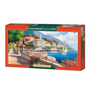 Castorland - 400010 - Puzzle 4000 pièces - Paysage Idyllique du Lac de Côme (207350)