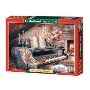 Castorland - 102648 - Puzzle 1000 pièces - Sonate éclairé par le feu, Judy Gibson (207462)