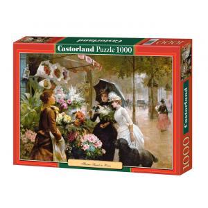 Castorland - 102921 - Puzzle 1000 pièces - Stand de Fleur à Paris (207512)