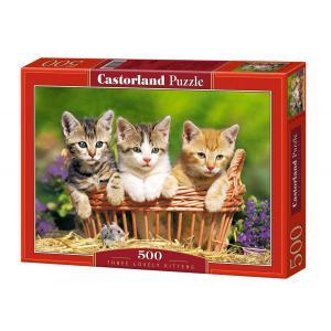 Castorland - 51168 - Puzzle 500 pièces - Trois adorables Chatons (207524)