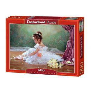 Castorland - 51571 - Puzzle 500 pièces - Ballerine Paisible (207550)