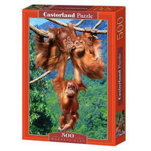 Castorland - 51601 - Puzzle 500 pièces - Jeu de Singes (207556)
