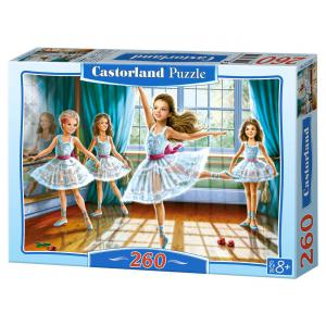 Castorland - 27231 - Puzzle 260 pièces - Petites Ballerines (207662)
