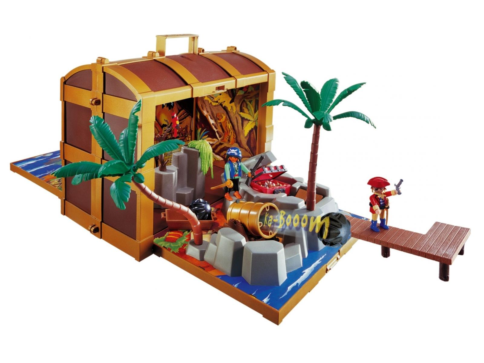 playmobil coffre au tr sor des pirates. Black Bedroom Furniture Sets. Home Design Ideas