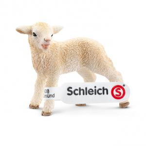 Schleich - 13744 - Figurine Agneau 5,5 cm x 2,5 cm x 4,5 cm (212428)