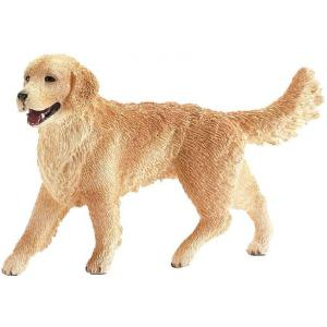 Schleich - 16395 - Figurine Golden Retriever, femelle - Dimension : 2 cm x 7,5 cm x 5 cm (212484)