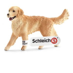 Schleich - 16395 - Figurine Golden Retriever, femelle 2 cm x 7,5 cm x 5 cm (212484)