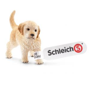 Schleich - 16396 - Figurine Chiot Golden Retriever - Dimension : 4,6 cm x 2,1 cm x 3,4 cm (212486)