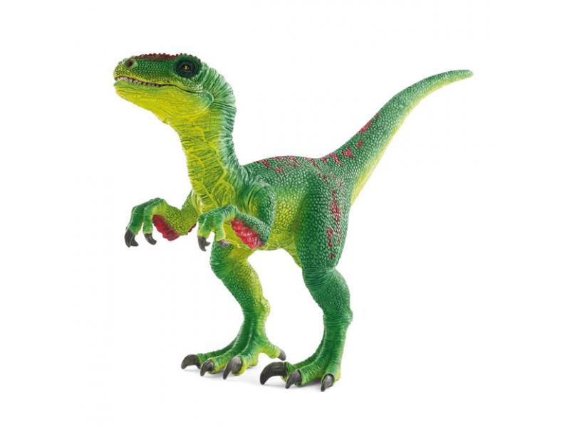 Schleich figurine v lociraptor vert - Liste des dinosaures carnivores ...