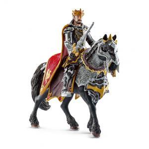 Schleich - 70115 - Figurine Chevalier dragon roi à cheval (212506)