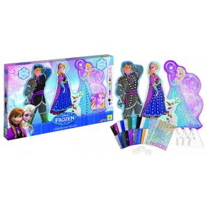 Orb factory - ORB11439 - Disney Frozen Sticky Mosaics® Large Templates (212630)