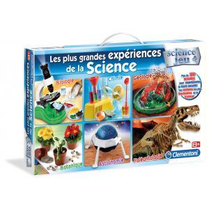 Clementoni - 52035 - Les plus grandes expériences de la Science (213162)