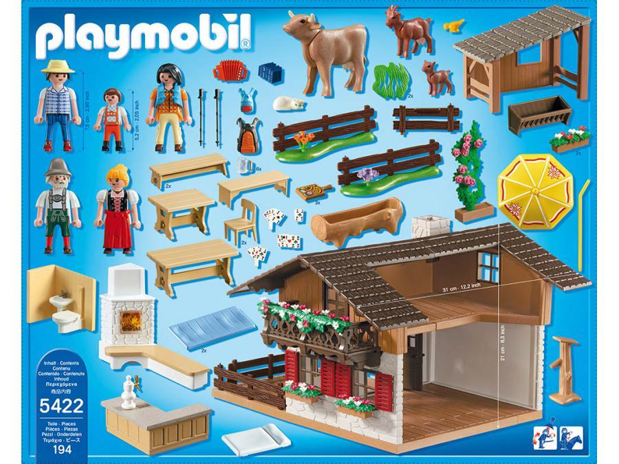 Playmobil chalet for Casa moderna de lujo playmobil