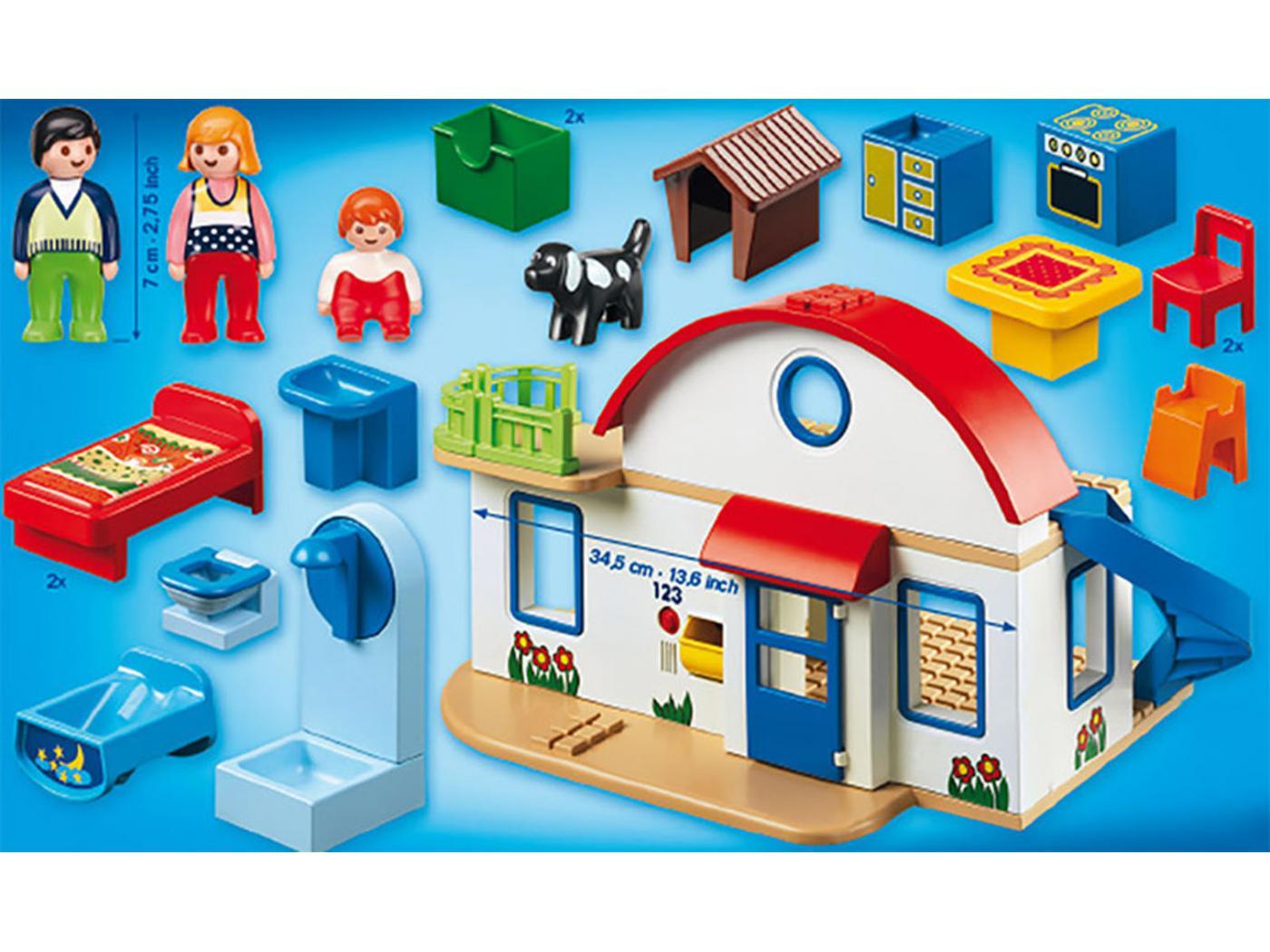 Playmobil maison de campagne - Plan maison de campagne playmobil ...