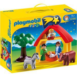 Playmobil - 6786 - Crèche 1.2.3 (213784)