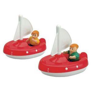 Aquaplay - 252 - 2 voiliers avec 2 figurines (214784)