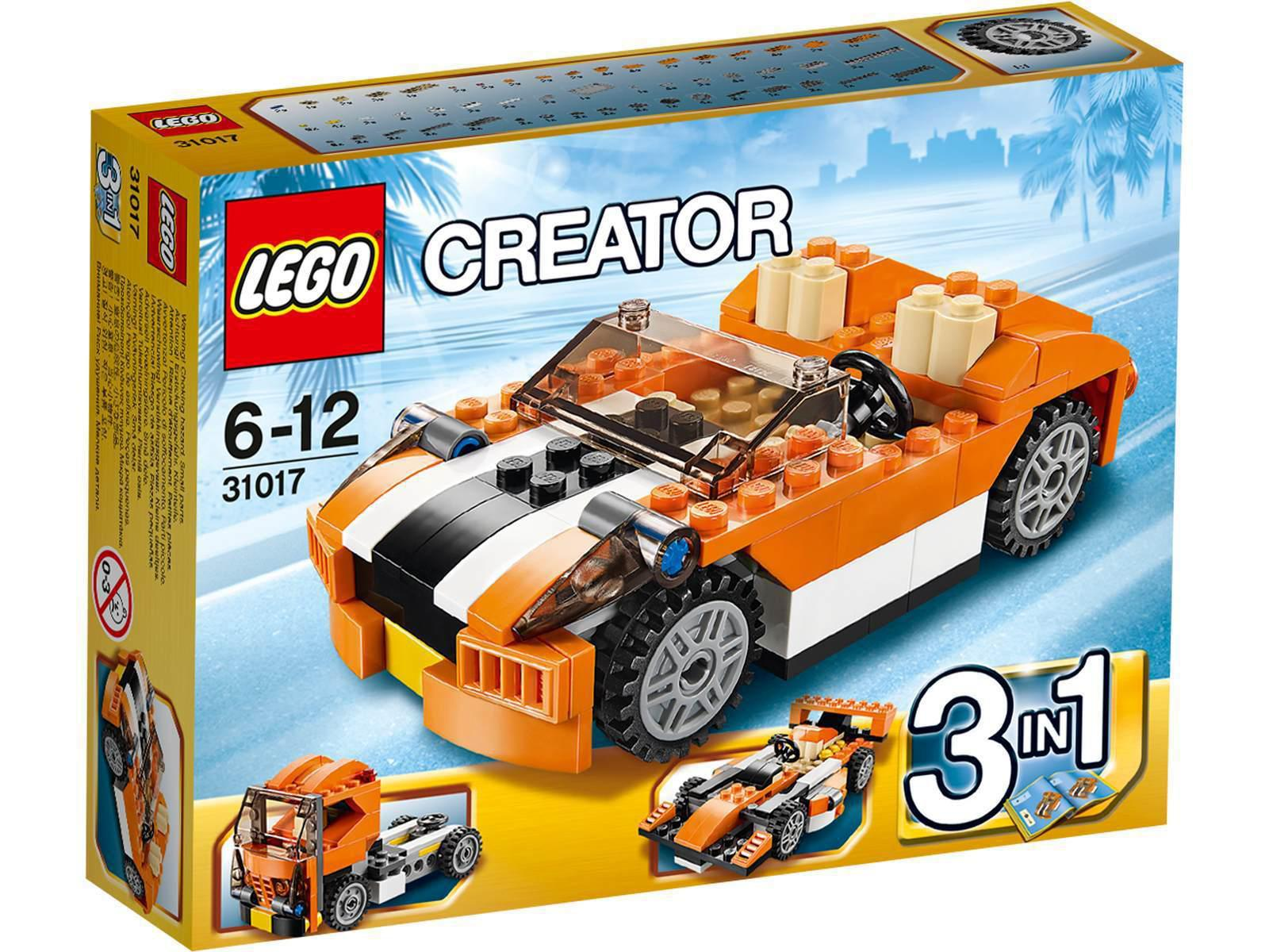 Lego la d capotable orange - Lego ninjago voiture ...
