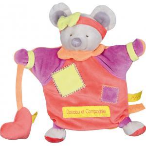 Doudou et compagnie - DC2560 - Marionnette zigag  souris (215920)