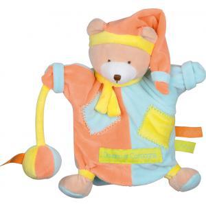 Doudou et compagnie - DC2562 - Marionnette zigag  ours (215924)