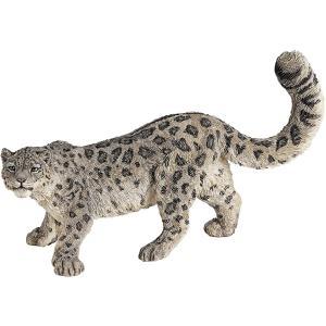 Papo - 50160 - Léopard des neiges - Dim. 11 cm x 4,8 cm x 6,5 cm (216250)