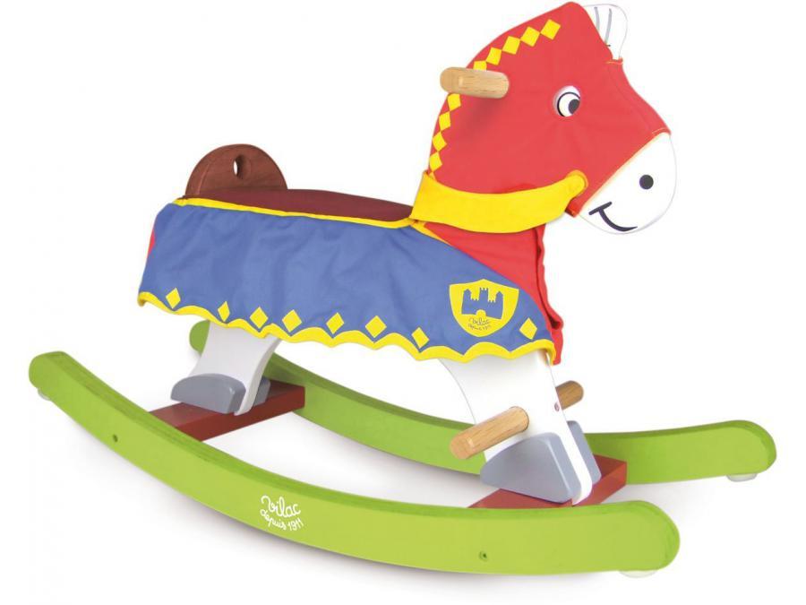 Vilac - Perceval, cheval à bascule avec sa