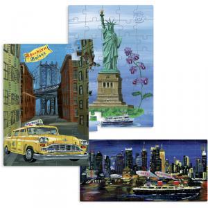 Vilac - 8640 - Puzzle New-York par Nathalie Lété (216502)