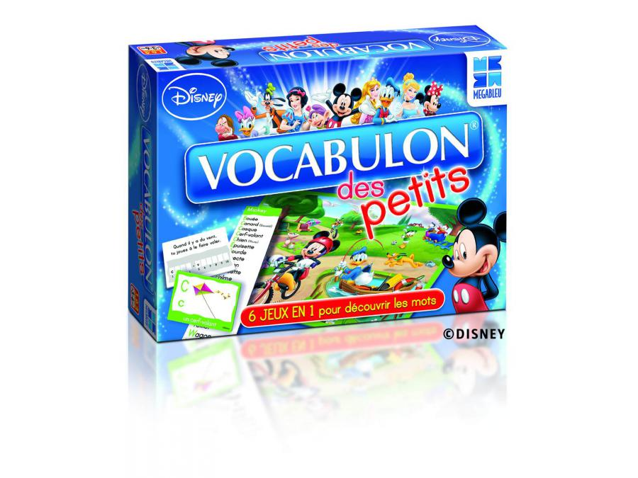 megableu editions vocabulon des petits disney. Black Bedroom Furniture Sets. Home Design Ideas