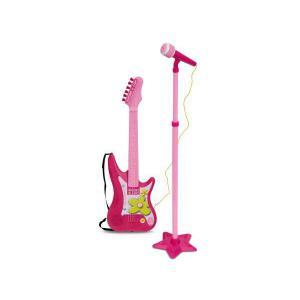 Bontempi - GM7571 - Ensemble Guitare + micro sur pied. I Girl (216834)