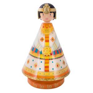 L'oiseau bateau - MUS0021 - Boîte à musique  Prince Inca, Les Musicoles (218336)