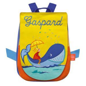 L'oiseau bateau - SAD0057 - Sac à dos Baleine personnalisable (218402)