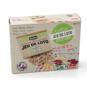 Jeujura - 8139 - Jeu de loto - coffret en bois (218694)